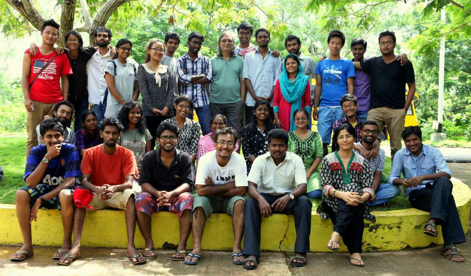 Documentary making workshops at Pondicherry University – 2013