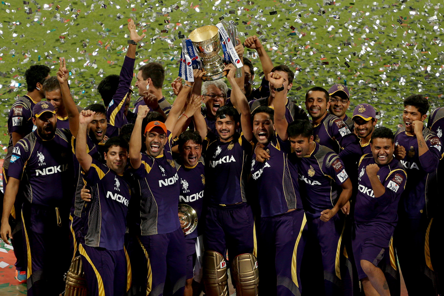 KKR win a cracking final in IPL 7, Saha's ton goes in vain