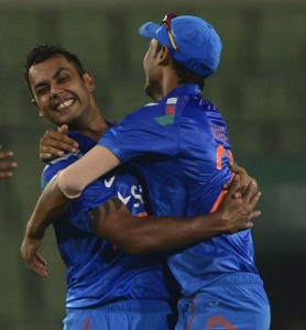 Binny's impressive figures helps India win the series.
