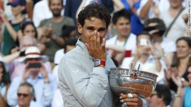 Rafael Nadal wins French Open – Once again!