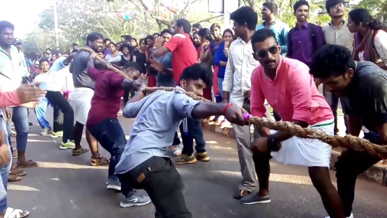Pongal celebration at Pondicherry University